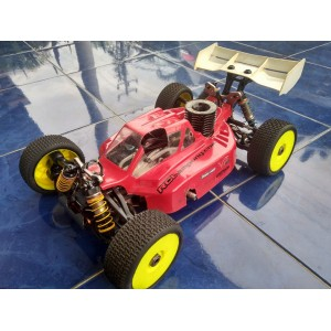 [RC Second] Caster racing buggy engine 1/8 pro with engine Werks B6 Pro II