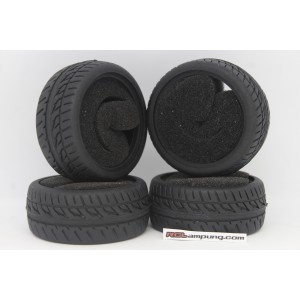 [21007] Kforce Touring Onroad 1/10 Tire (4pcs)