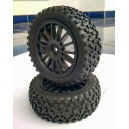 [24040+28005+27011] Kforce Walking Front Buggy Tire 1/10 (2pcs)
