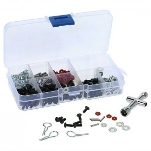 Tool Kit Screw Box Rc Car 1/10 270 Pcs + Kunci Wrench 1/10