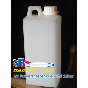VP POWER MASTER FUEL NITRO METANOL 20% 1Liter