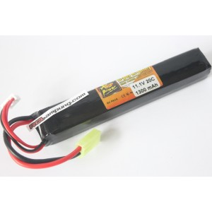 ZOP Power 1300mah 3s 11.1v 20c Lipo Airsoft Pack