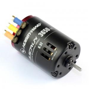 Quicrun 3650SD 6.5T Black G2 Brushless Motor Sensored