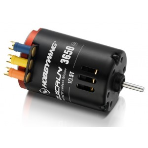 Quicrun 3650SD 10.5T Black G2 Brushless Motor Sensored