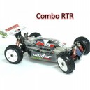 Combo RTR Caster Racing ZX-1.5 Pro Kit Buggy Engine 1/8