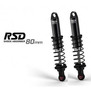 [GM23604] Gmade RSD Shock 80mm Black (2pcs)
