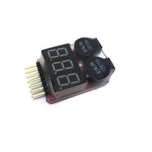 [007001] lipo buzzer dan indicator lipo digital