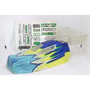 SK106-BL  Body White,Blue,Yellow+Clear Wing 1/10
