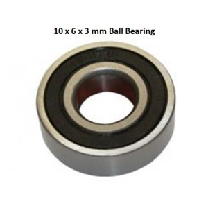 Ball bearing 10x6x3mm 1pcs