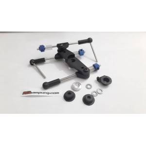 JR-0151-BK Throttle Brake Linkage Set Black