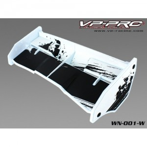 WN-001-W VP Pro Wing Plastik (white) 1/8