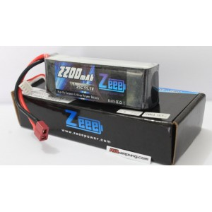 Zeee 2200mah 3s 11.1v 25c Lipo Battery