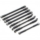 TRC/302263 Team Raffee Co. Aluminum Link Set (8) for TRC Defender D90