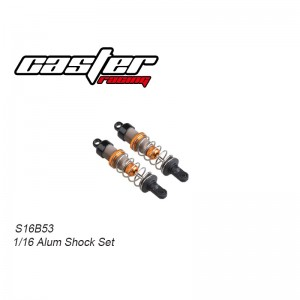 S16B053 1/16 Buggy 2pcs Alum Shock Set