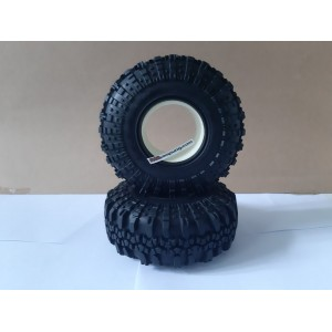 R86222 RGT Swamper 1.9 Tire With Foam L+R 2pcs RC Car 1/10