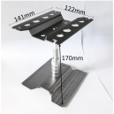 Rc Car Stand Repair Workstation Aluminum Alloy 360 Degree Rotation Lift Or Lower for 1/12 1/10 1/8