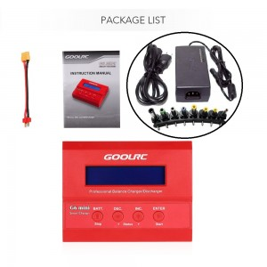 GoolRC G6 mini RC Lipo Battery Balance Charger / Discharger + PS
