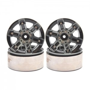 BRW760904 Boom Racing EVO™ 1.9 High Mass Beadlock Aluminum Wheels HNC - 6 (4pcs)