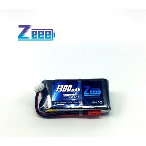 Zeee 1300mAh 2S 7.4v 30C Lipo Battery