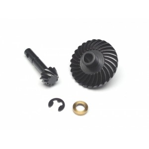Boom Racing Heavy Duty Bevel Helical Gear Set 27T/10T for Scale PHAT Axle BRQ90332BK
