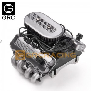 GRC F76 SOHC V8 Scale Engine Kit Heat Sink Cooling Fan GRC/G164AS