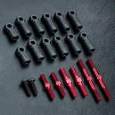 MST RMX 2.0 S Turnbuckle shaft set (red) 210595R