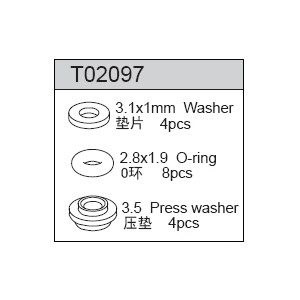 2.5X30 Arm Pin (2) - TR4046