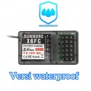 DumboRC X6FG 2.4G 6CH Waterproof Receiver With Gyro For X6 X4 X5