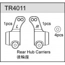 Rear Hub Carries (2) - TR4011
