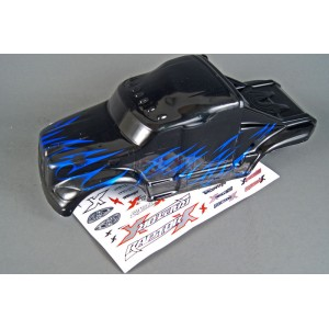 MA2133 - Bodyshell With Decal(black blue) for monster 1:8