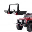 Metal Front Bumper w/ Led Light Traxxas TRX4 1/10 RC Car Crawler