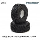 Pro-Line BFGoodrich Mud Terrain KM3 1.9 G8 Tires Proline 1/10 RC Car Crawler Truck PRO/10150-14